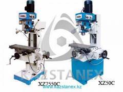 Сверлильно-фрезерные станки XZ7550C, XZ50C