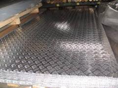 A5m aluminum sheet, AMTsM, AMG, D16, V95, AD