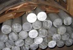 Aluminum bar circle of D16, AMG, AD, JSC