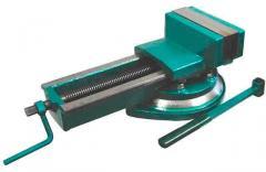 Тиски станочные поворотные 7200-3210