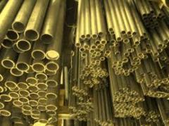 Brass pipe L68, L63, LO70-1, LZhMts, LS59