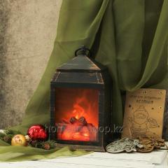 Фонарь-ночник с эффектом живого огня «Уют...
