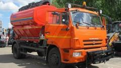 Combined harvester machine Kamaz 43253,