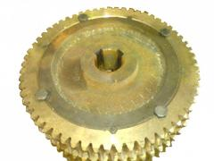 Колесо червячное редуктора привода транспортера