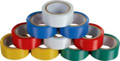 Insulating tapes are polyvinyl chloride