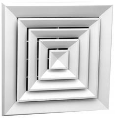 Диффузор потолочный 4-х поточный