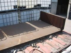 Forms and tables for production of foam concrete