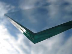 Glass shock-proof triplex