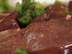 Beef frozen, beef liver
