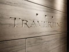 Stone travertine, Travertine construction,