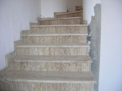 Ladders from travertine, travertinovy ladders,