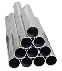 Pipes and tubes from aluminum