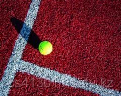 Floor coatings for tennis corts