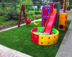 Coverings for children playgrounds