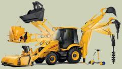 Hinged equipment for equipmen