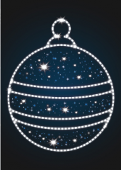 """Новогодний мотив """"Елочный шар"""