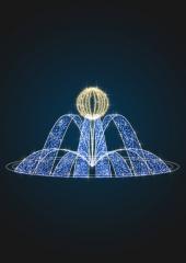 Светящаяся фигура фонтан Теплый - FON 19
