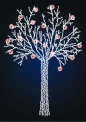 Новогоднее светящееся дерево 2, 5 метра - SP...