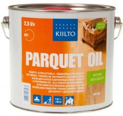 Oil for a parquet and wooden floors - Kiilto