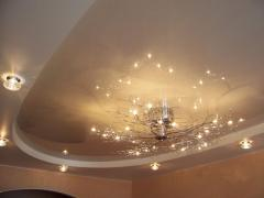 Stretch ceilings seamless