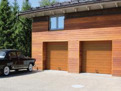 Секционные ворота в гараж на заказ