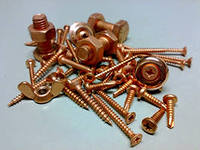 Nuts copper