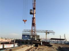 KB-160 tower crane