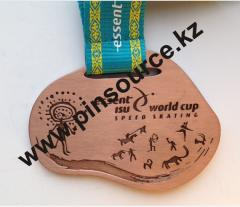Sports medal in Almaty