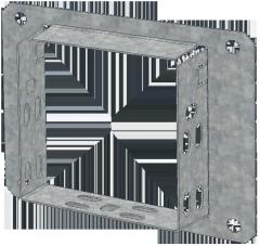 Соединительный фланец 100х100 IEK