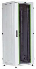 Шкаф сетевой 19 LINEA N 18U 600Х800 мм стеклянная передняя дверь черный LN05-18U68-G ITK
