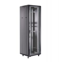 Шкаф серверный 19 22U, 600*1000*1166 черный