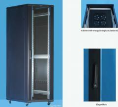 Шкаф серверный 19 42U, 800*1000*2055 черный
