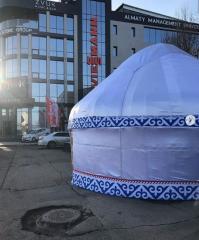 Юрта торговая палатка