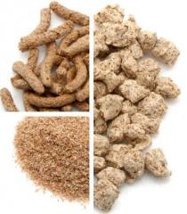 Отруби пшеничные пушистые и гранулированные