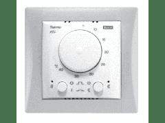 Комплект - термостат ATC, белая рамка Элегант,