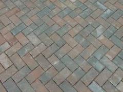 Цементно-песчаная тротуарная плитка в Алматы