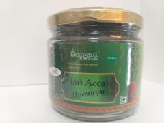 Чай Ассам листовой черный Премиум, 70 гр, Сангам