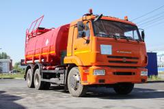 Автотопливозаправщик АТЗ-17 Камаз-65115