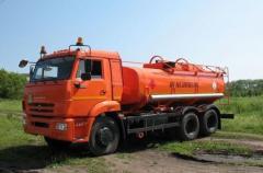 Автотопливозаправщик АТЗ-12 Камаз-65115