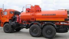 Автоцистерны для нефти АЦН-10 Камаз-43118,