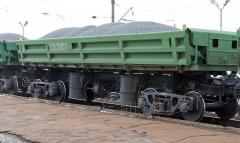 Железнодорожные поставки фракционного гравия и