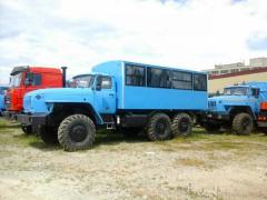 Автобус вахтовый Урал 32551-0013-61Е5, 20 мест,