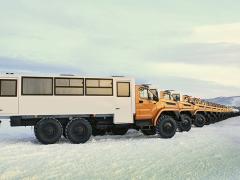 Автобус вахтовый Урал NEXT 3255-5013-71Е5, ...