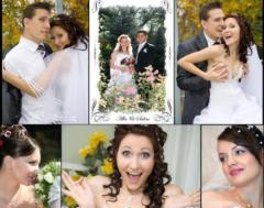 Фото и видеосъёмка профессиональная  свадеб,