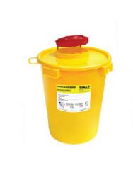 Пластиковые ёмкости-контейнеры для сбора игл...