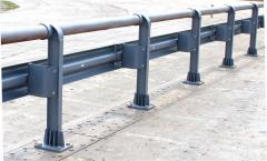 Поручень концевой ПК (для мостовых ограждений)