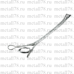 Разъемный (проходной) кабельный чулок, d = 10-20 мм, 2 петли