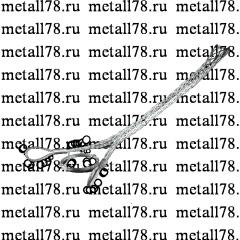 Разъемный (проходной) кабельный чулок, d=130-150 мм, 1 петля