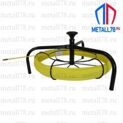 Протяжка для кабеля 3,5 мм 200 м на основании Spider+кассета max (протяжка кабельная, мини УЗК)