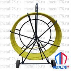 Протяжка для кабеля 11 мм 400 м на тележке &quot-Длинномер&quot- (протяжка кабельная, УЗК)